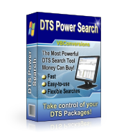 search dts packages